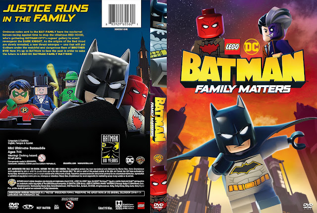LEGO DC: Batman - Family Matters DVD Cover
