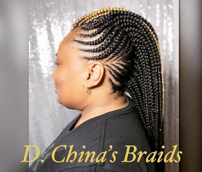 Braided Mohawk Hairstyles with Weave