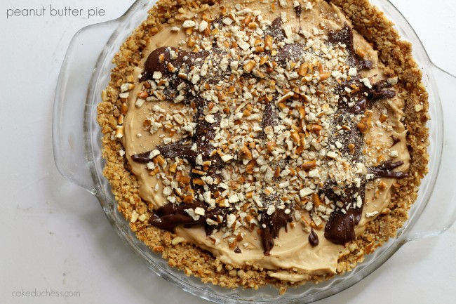 Chocolate-Peanut Butter Pretzel Pie