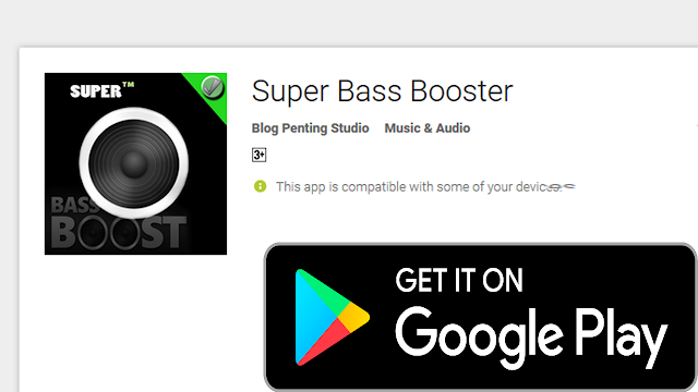 Super bass booster for android