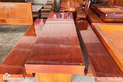 Bàn K3 Bàn gỗ nguyên khối, Ban ghe nguyen khoi Hue, Ban k3 Nguyen Khoi, Noi that Hue