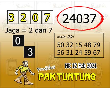 Prediksi Pak Tuntung Hk Jumat 12 Februari 2021