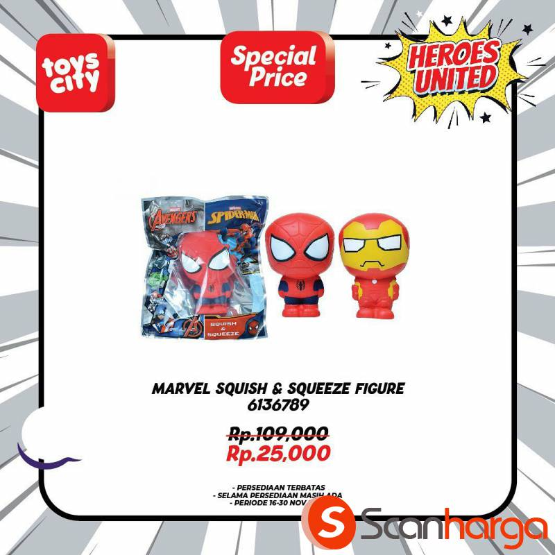 Promo Toys City Fantastic HEROES Collection Special Discount up to 50% 5