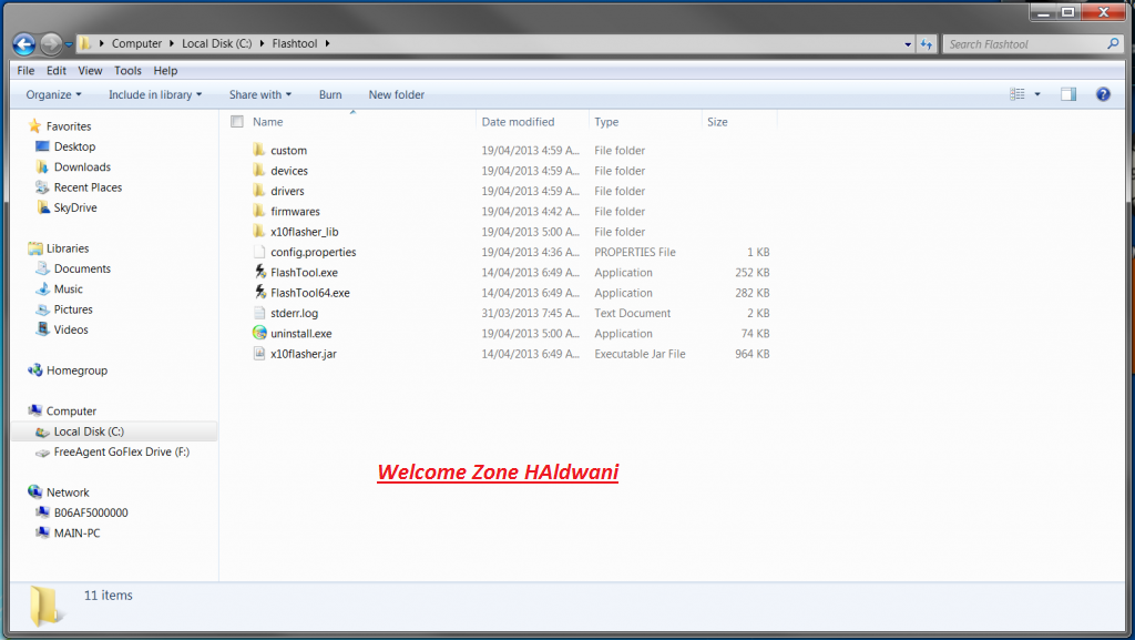 how to create a folder on a sony xperia xz1
