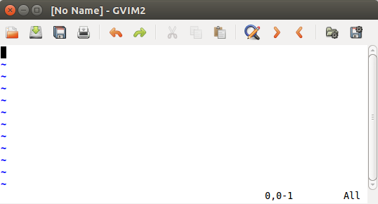 New gvim window