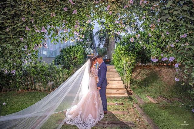 casamento natureza e flores