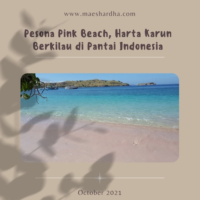 Pesona Pink Beach, Harta Karun Berkilau di Pantai Indonesia