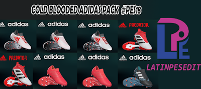 PES 2018 Adidas Cold Blooded Pack 2018 by LPE