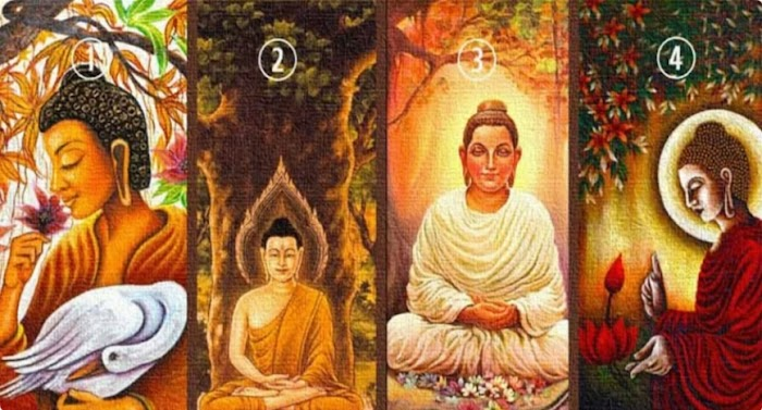 Выберите Будду и получите духовное послание для обновления вашей энергии и пополнения ваших сил