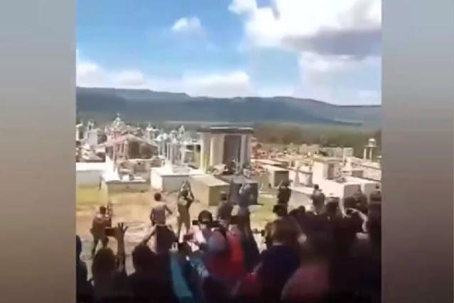 """Video: Así fue el funeral de El Chepe Sierra 2, fue guardaespaldas de El Mencho """"hasta mero arriba compa chepe se le va extrañar echando chingazos"""