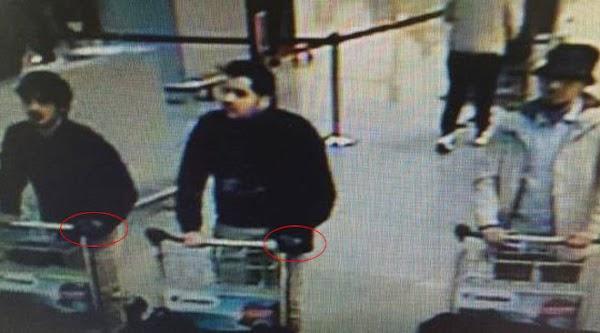 Las caras de los sospechos atentados Bruselas