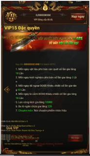 Game Thần Sấm H5 Việt hóa vừa Open S1 Free VIP15 + 2.000.000.000KNB & Train KNB + Vô số quà | Game Trung Quốc hay