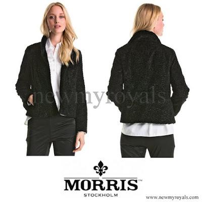 Princess Sofia wore MORRIS Ophelia Faux Fur Jacket