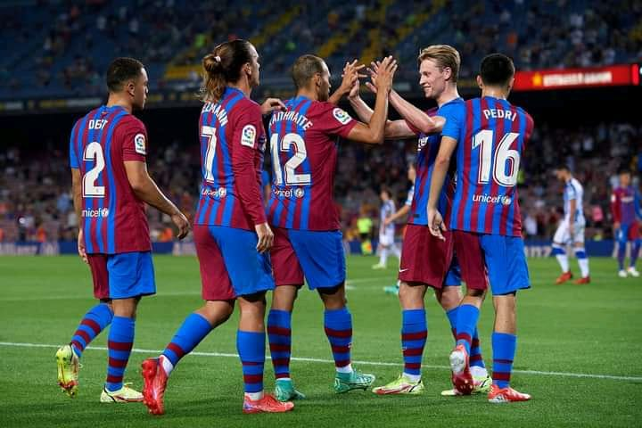Week One(1): Barcelona V Real Sociedad Match Review and Highlight