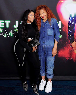 Lil Kim and Janet Jackson photos