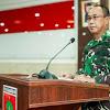 Pangdam Hasanuddin Terima Taklimat Awal Wasrik Itjenad