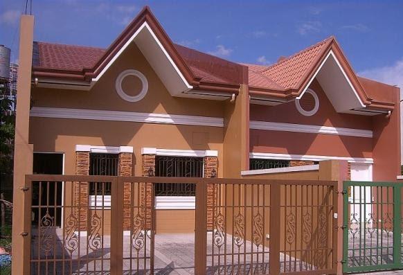 Pinturas para fachadas exteriores best fachada ocre with - Pintar la casa de colores ...