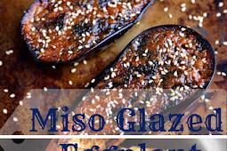 Miso Glazed Eggplant  Recipes Japanese