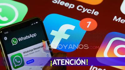 ¡No es su celular! Reportan caída mundial de WhatsApp, Instagram y Facebook