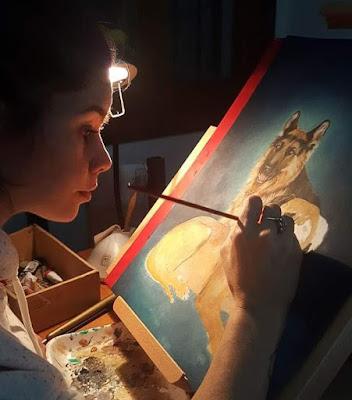 María Florencia Zambecchi pintora argentina