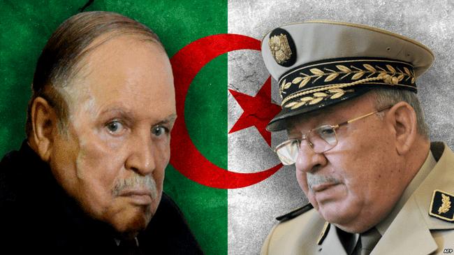 """جزائريُّون…""""القايد صَالح"""" لَم يعُد صالحاً لأي شَيء سوى تَعنيف المُواطنين العُزَّل"""