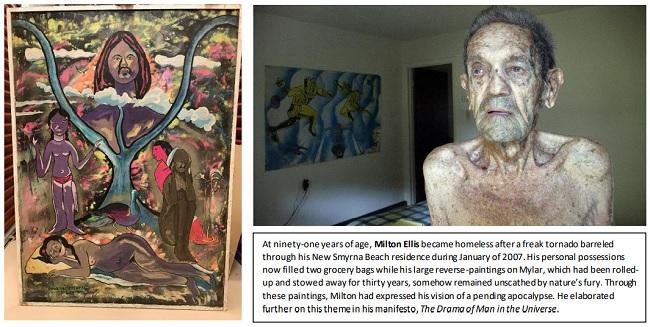 Artist Milton Ellis