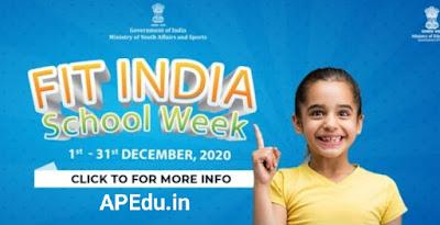 Fit India school week 2020