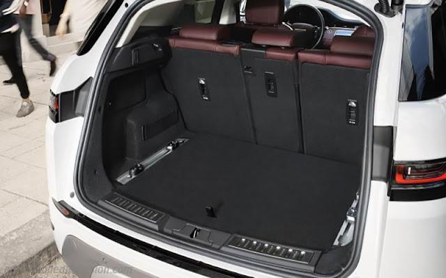 Range Rover Evoque có khoang chứa đổ lên tới 1.383 lít