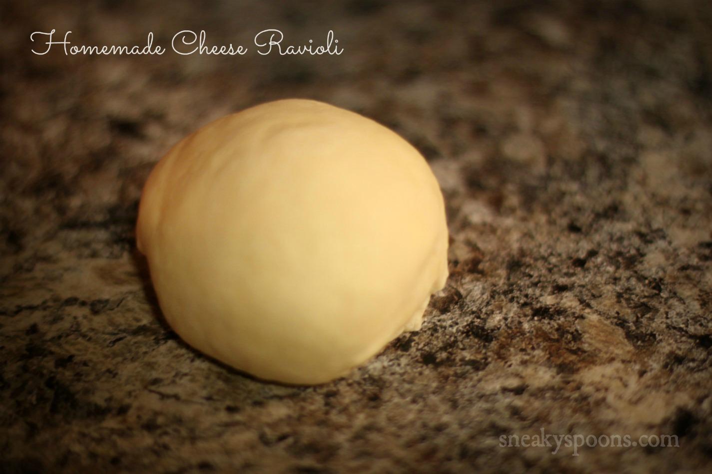 homemade ravioli dough
