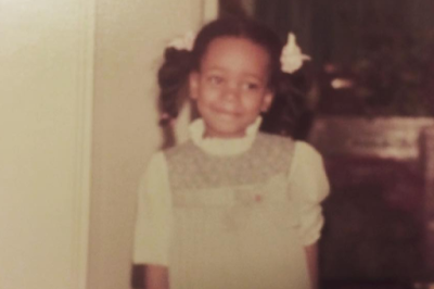 monica childhood picture