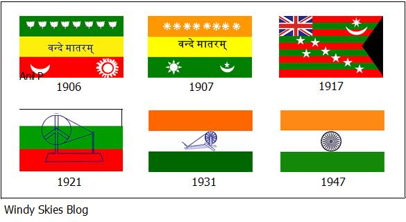 Indian Flag History: Windy Skies: Tiranga, The Indian Tricolour
