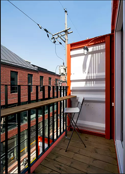 Shipping Container 4 Story House - Office, Cafe and Hotel in Seoul, South Korea 62