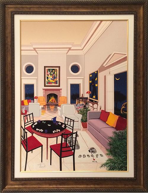 fanch-ledan-painting, fanch-ledan-interior, fanch-ledan-living-room
