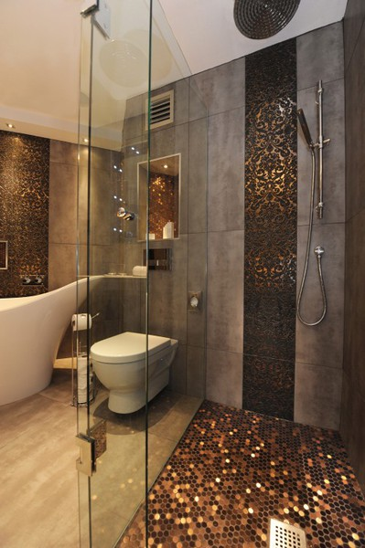 To Da Loos 11 Tile Pattern Ideas For Your Glass Shower