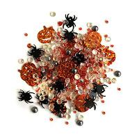 Buttons Galore - Creepy Sparkletz SPK154