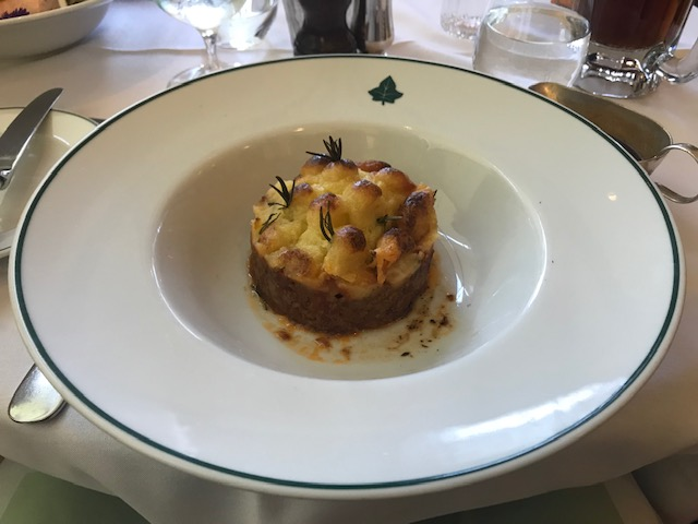 The Ivy, Edinburgh, Dinner, Shepherd's Pie,