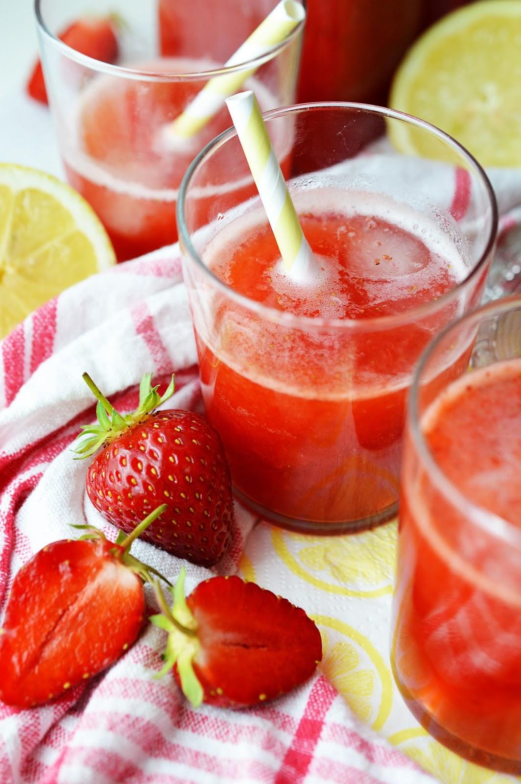 Strawberry Lemonade Recipe   Motte's Blog