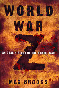 World War Z by Max Brooks - book cover
