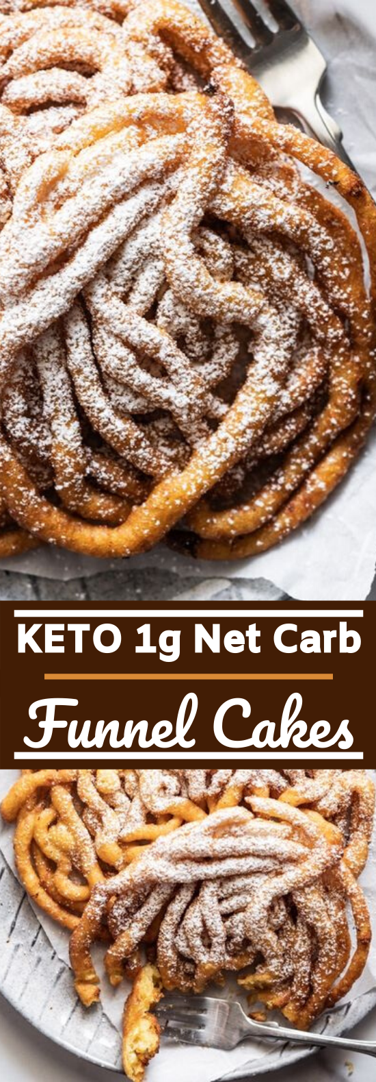 Homemade Keto Funnel Cakes #keto #recipe #lowcarb #desserts #diet