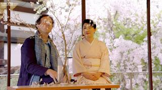 Monty Don and Senko Ikenobo