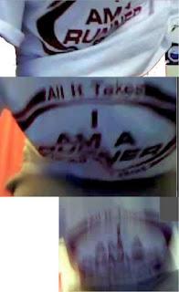 I am a runner - All it takes - shirt - EUROPOL