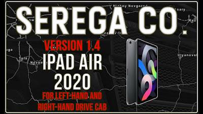 iPad Air (2020) Mod GPS v1.4 | ETS2 1.39 - 1.40