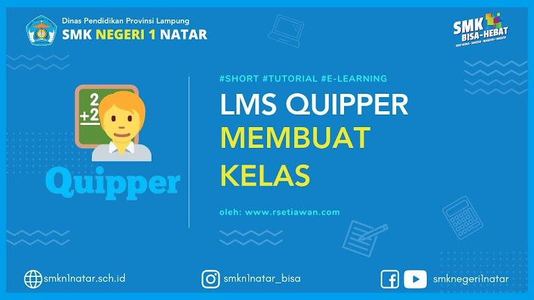 Membuat kelas di quipper school Guru cukup 3 Langkah