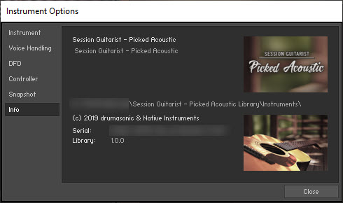 Session Guitarist - Picked Acoustic Library
