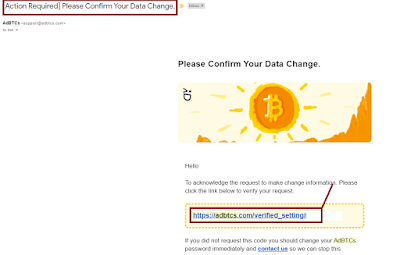 Adbtcs's Confirm Data Charges