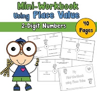 Mini Workbook 2 Digit Place Value