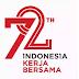 selamat merayakan HUT RI ke 72 Indonesia Kerja Bersama