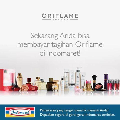 Pembayaran Pembelian Produk Oriflame di Indomaret