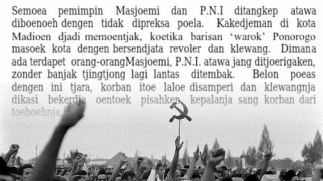 Saat PKI Bantai Pimpinan Pesantren, Kiai Diikat dan Diseret ke Sumur Pembantaian