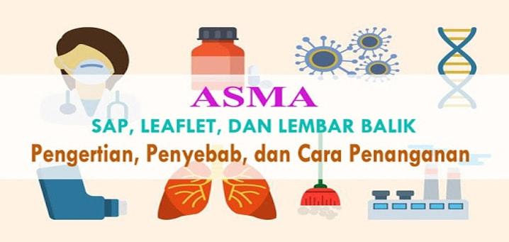 SAP, Leaflet, dan Lembar Balik Asma